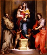 Madonna Harpies Andrea Del Sarto  Art Photo/Poster Repro Print Many Sizes Gifts