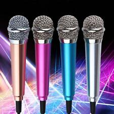 Micro 3.5mm Microphone Mic Mobile Phone Laptop MSN Karaoke Wired For Android IOS
