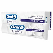 New Oral B 3D White Luxe Perfection Toothpaste Whitening Enamel Protect 75ml