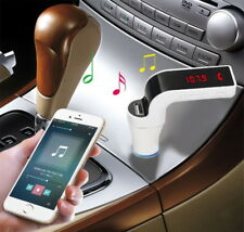 G7 Car Kit Charger with Bluetooth , Car MP3 USB Transmitter Mobile Car Handsfree