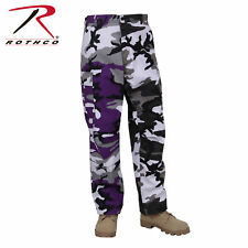 ROTHCO 1840 TWO TONE ULTRA VIOLET / CITY CAMO MENS CARGO CAMO BDU PANTS XS TO 3X