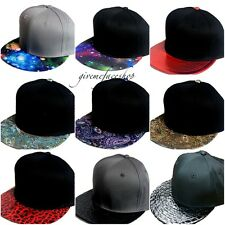 hommes, Femmes Casquettes snapback, exclusif baseball visière plate Galaxie,