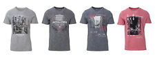 JACK JONES T-SHIRT UOMO FEEDERCITY TEE SS CREW NECK 12136852