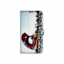 Housse cuir portefeuille Wiko Freddy Moto