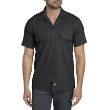 Camicia Dickies Short Sleeve Slim Work Shirt Black