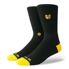 Calze Stance Wu-Tang Patch Black - Calzettoni in Cotone