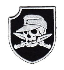 Tactical Morale Army Biker Motorcycle Patch Pirate Soldier Skull & Knives