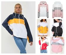 Women's Ladies Lightweight Festival Hooded Showerproof and Two-tone Jackets