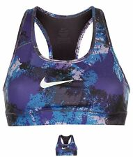 OFFERTA Nike Pro Graphic Bra Donna Purple