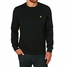 Lyle & Scott Vintage Logo Sweatshirt ML708V True Black Ship Worldwide
