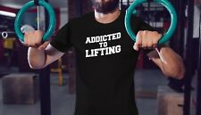 Bodybuilding Gym T Shirt Men Workout Shirt Muscle Tee Fitness Motivation Clothes