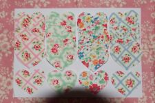 Cath Kidston material heart appliques