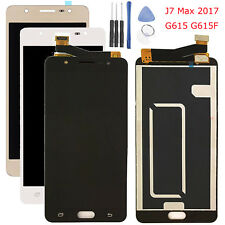 Schermo Display LCD Touch Screen Per Samsung Galaxy J7 Max 2017 G615 G615F Nero