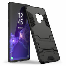 Heavy Duty Tough Stand Case For The Samsung Galaxy S9 & S9 Plus Shockproof Cover