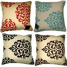 Lexi Polycotton 18 x 18 printed Floral Cushion Cover in Colors