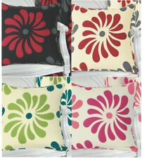 Petals Polycotton 18 x 18 printed Floral Cushion Cover in Colors