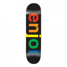 Tavola da Skateboard Professionale Enjoi Team Spectrum Black 8.0'' + Grip