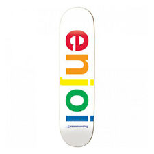 Tavola da Skateboard Professionale Enjoi Team Spectrum White 8.0'' + Grip