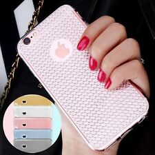 Bling Silicone Glitter ShockProof Case Cover For iPhone SE 5S 6 6S 7 Plus