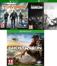 Tom Clancy's Rainbow Six Siege + The Division Xbox One - MINT - Super Fast Deliv