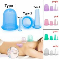 Silicone Massage Vacuum Body and Facial Cups Set Anti Cellulite Cupping Tool G2