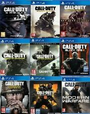 Call Of Duty PS4 Ghost Infinite Warfare Legacy Black Ops WW2 WWII MODERN - PS4