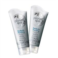 Set 2 esfoliante viso + maschera purificante Avon planet Spa ai sali mar morto