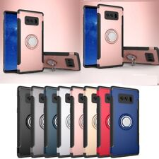 Luxury Shockproof Ring Holder Stand Hard Cover Case For Samsung Galaxy S9 S8 S7