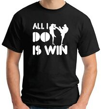 T-shirt OLDENG00379 all i do is win kickboxing