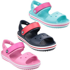 Crocs Crocband Childrens Sandals Summer Strap Croslite Kids Boys Girls Shoes