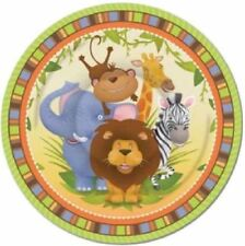 Jungle Party Plates, Cups, Napkins, Table Covers, Banners & Party Bags - Cheap