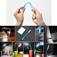 LÁMPARA USB LED FLEXIBLE MINI LUZ PARA PORTATIL PC NOTEBOOK POWER BANK LECTURA