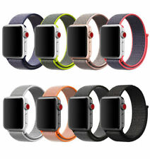 Woven Nylon Sport Loop iWatch Band Strap Bracelet For Apple Watch Series 1 2 3 4