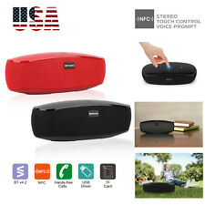 Portable Bluetooth Speaker Wireless Stereo Loud Super Bass Sound Aux USB TF FM