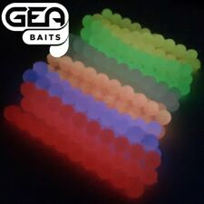 GLOW in the Dark 8 mm Salmon Eggs Soft Lures Carp Fishing TROUT Fly Fishing Bait
