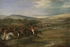 Berkeley Hunt 1842 Full Cry Francis Calcraft Turner 1842 Vintage Art Poster/Phot