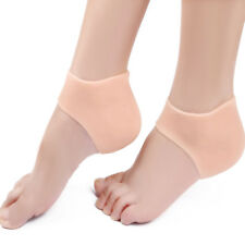 New 2PCS Silicone Moisturizing Gel Heel Socks Cracked Foot Skin Protector lot GP