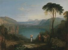 Lake Avernus Aeneas Cumaean Sybil Joseph Mallord William Turner between 1814-181