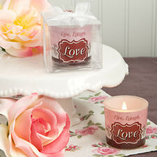 Live, Laugh And Love Vintage Candle Holder ~ Party Favors & Gifts