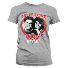 Officially Licensed Saved By The Bell- True Love 90´s Style Womens T-Shirt S-XXL