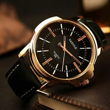 Luxury Rose Gold Wrist Watch Brand Mens Business Male Quartz Xmas Gifts For Him