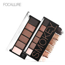 6 Colors Eyeshadow Palette Glamorous Smokey Eye Shadow Shimmer Colors
