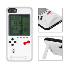 Cubierta del portatarjetas Game Boy Tetris Console para iPhone X 6 6s 7 8 Plus