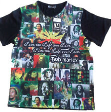 Bob Marley Camiseta hombre,Hip Hop,retro,camisetas,RAP,Urban bling LOVE LIFE