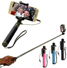 MONOPOD SELFIE STICK  WIRED FOR I PHONES
