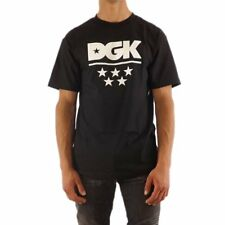 |DT-3910| T-Shirt Dgk – All Star nero 2018 Uomo Cotone DGK