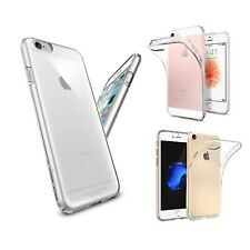 FUNDA CARCASA DE SILICONA TPU GEL TRANSPARENTE PARA iPhone 4 / 5 / 6 7 Plus / 7