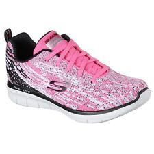 Skechers Synergy 2.0 High Spirits Womens Trainers Memory Foam Sports Knit Shoes