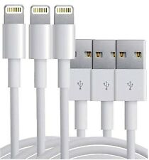 White USB Data Lightning Sync & Charger  Cable For Apple iPhone 6 5 7 8 iPad Air