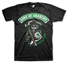 Official Licensed Sons Of Anarchy Ireland Men's T-Shirt S-XXL Sizes (Black)